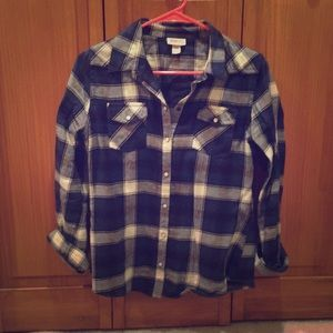 Mossimo Supply Co. Tops - Mossimo Supply Co. flannel shirt